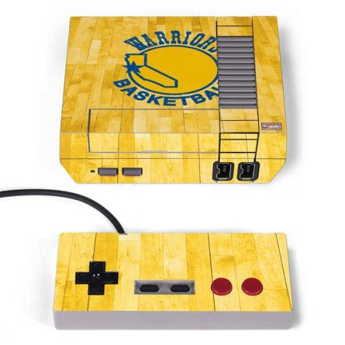 official photos 8a16b b9971 Golden State Warriors Hardwood Classics NES Classic Edition Skin