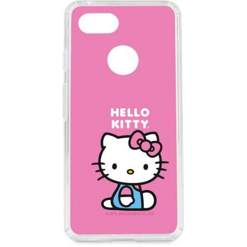 Skinit Pro Phone Case for Google Pixel 2 Officially Licensed Sanrio Hello Kitty Face Pink Design