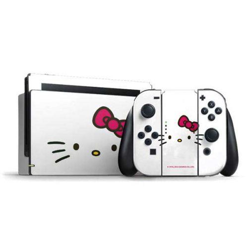Hello Kitty White Nintendo Switch Bundle Skin