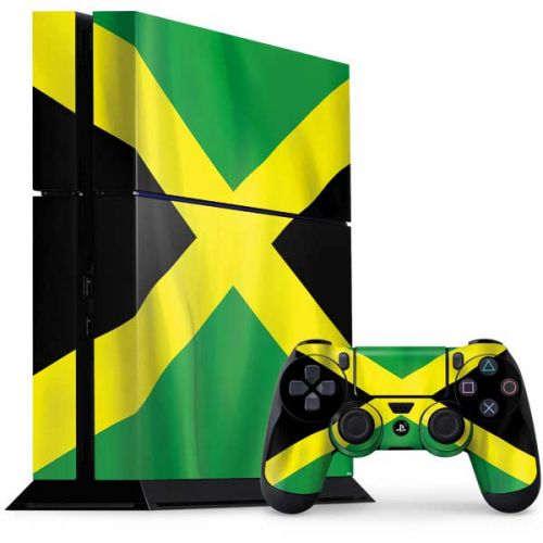 Jamaica Flag PS4 Console and Controller Bundle Skin