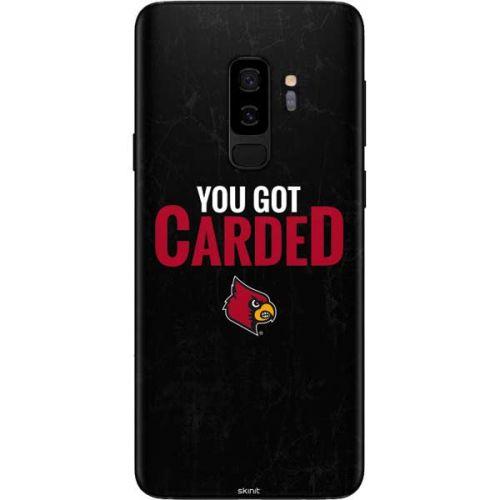 Louisville You Got Carded Galaxy S9 Plus Skin