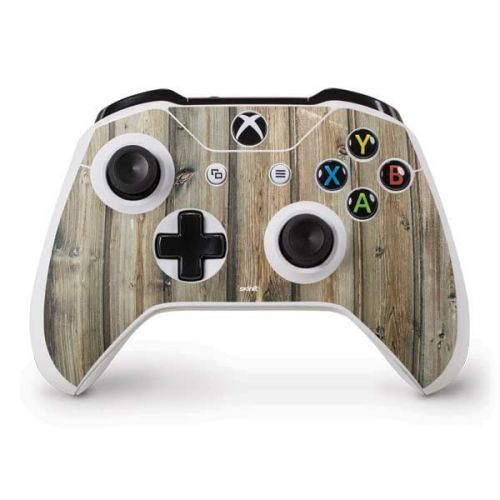 Natural Weathered Wood Xbox One S Controller Skin