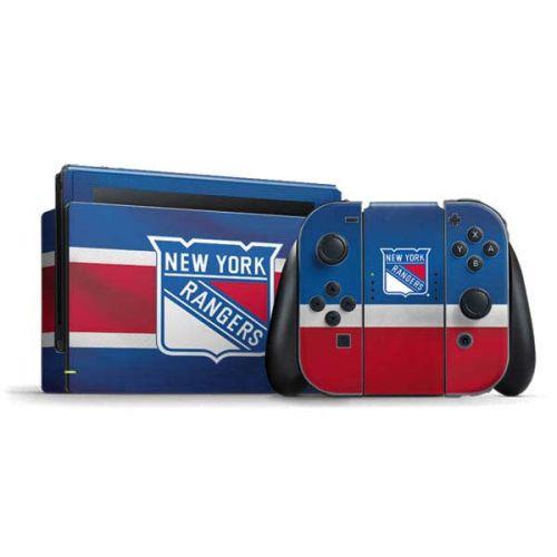 new product 29c07 bfd3f New York Rangers Jersey Nintendo Switch Bundle Skin