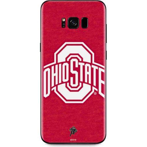 OSU Ohio State Buckeyes Red Logo Galaxy S8 Plus Skin