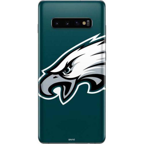 Philadelphia Eagles Large Logo Galaxy S10 Plus Skin