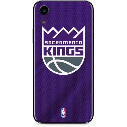 the latest 342a9 e89c2 Sacramento Kings Jersey iPhone XR Skin