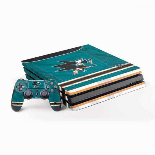 low priced 926b6 01b4d San Jose Sharks Home Jersey PS4 Pro Bundle Skin