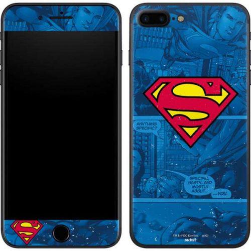 Superman Logo Iphone 7 Plus Skin Dc Comics