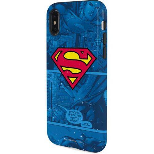 Superman Logo Iphone X Pro Case Dc Comics