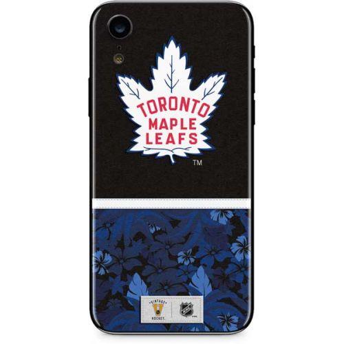 Toronto Maple Leafs Retro Tropical Print Iphone Xr Skin Nhl