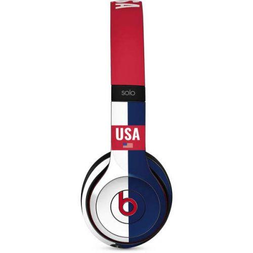 Usa Flag Color Block Beats Solo 3 Wireless Skin
