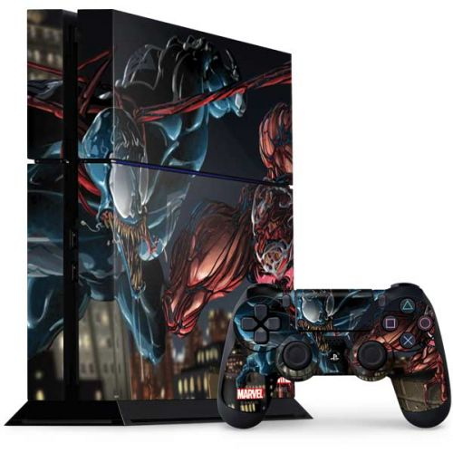 Venom vs Carnage PS4 Console and Controller Bundle Skin