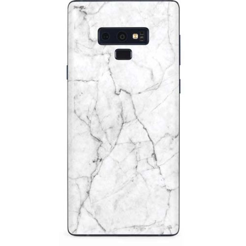 White Marble Galaxy Note 9 Skin