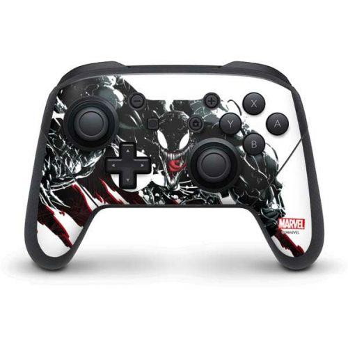 Venom Slashes Switch Pro Controller Skin Marvel