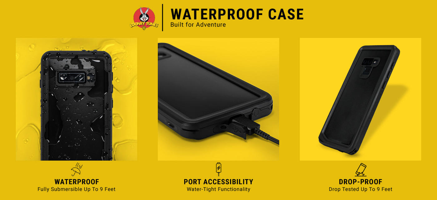 Marvin the Martian Sliced Galaxy Note 8 Waterproof Case 5