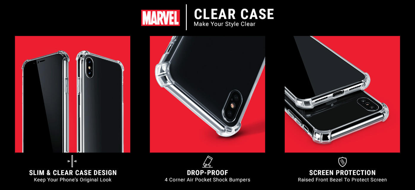 Ironman Galaxy Note 10 Plus Clear Case 5