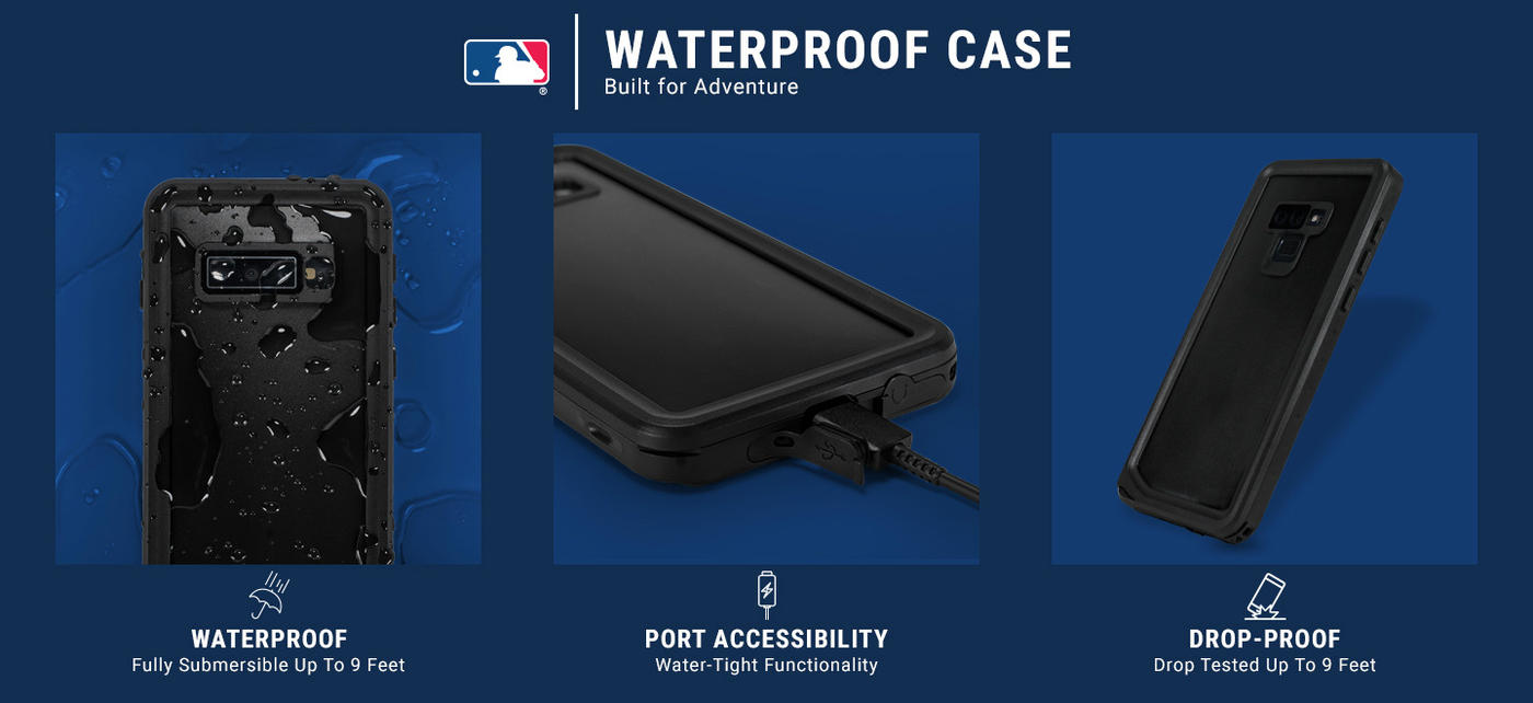 Toronto Blue Jays Split iPhone 6/6s Waterproof Case 5