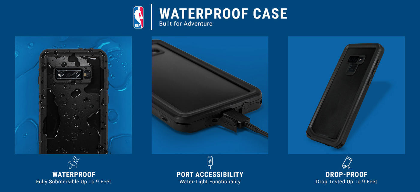 Indiana Pacers Hardwood Classics iPhone XS Waterproof Case 5
