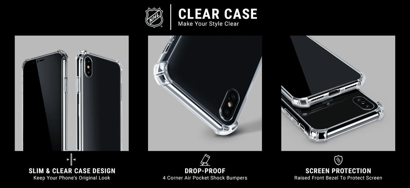 Montreal Canadiens Frozen Moto G8 Plus Clear Case 5
