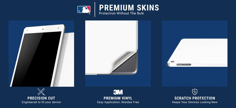 New York Yankees Home Jersey Surface Go Skin 5