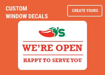 shop custom window decals
