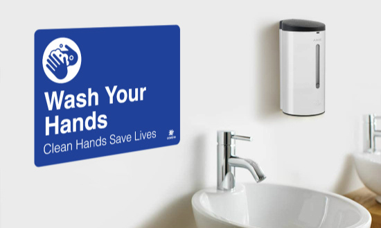 Wash Your Hands Wall Graphics